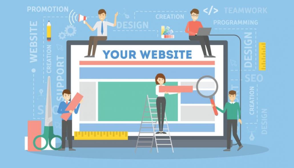 Een eigen website